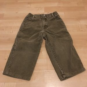 Toddlers Vintage Guess Corduroy Tan Pants Size 2T